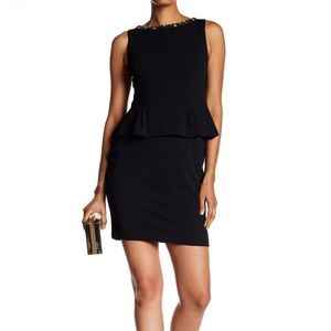 NEW • Vince Camuto • Peplum Embellished Dress 6